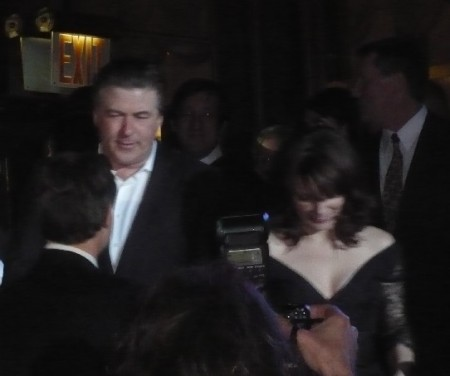 Alec Baldwin and Tina Fey.