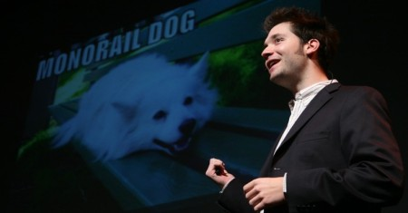 Alexis Ohanian is aided by animals