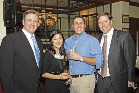 Tom Bair (Vice President and Publisher, Golf Digest); Joanna Havlin (Partner, Associate Director, Print, Mediaedge:cia); David Ginsberg (Global Print Communications Manager, Mediaedge:cia); Bill Kelly (Account Director, Golf Digest)