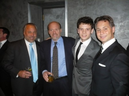 Our man Isaac corrals Jason Binn and Jim Cramer.