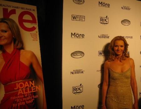 Joan Allen for Moremagazine.
