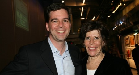 MPA prez and CEO, Nina Link, and Hearst VP of content and biz dev, Chrisopher Johnson