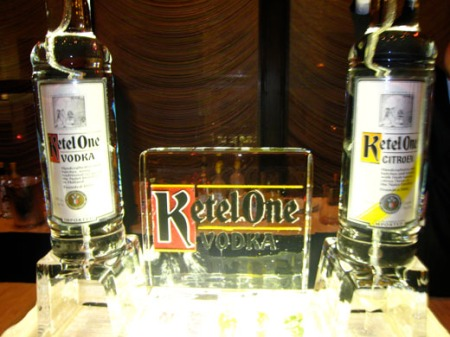 Ketel One ice luge