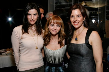 Milena Govich of Law & Order, Christina Ricci, Donna Distephano